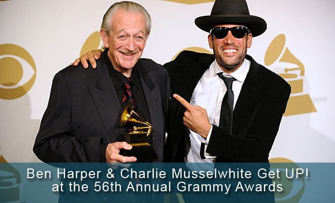 Ben Harper and Charlie Musselwhite Eager to Record Next Joint Album