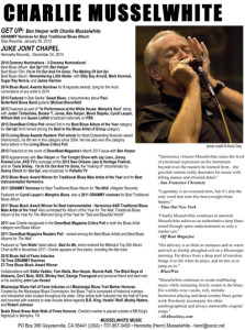 Charlie Musselwhite Promo Package