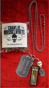Charlie Musselwhite Ace of Harps Dog Tags